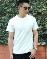 áo thun trơn màu trắng