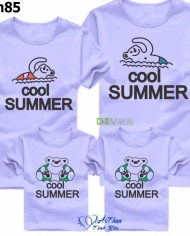 áo thun gia đình Cool Summer