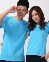 áo thun trơn màu xanh