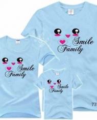 đồng phục gia đình 4 người