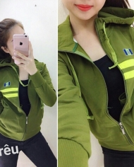 áo khoác da cá 4 chiều